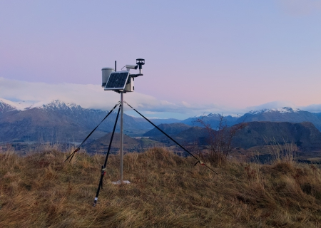 Portable Automatic Weather Station (AWS)